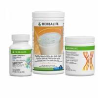 HERBALIFE - Bộ 3 hỗ trợ giảm cân cơ bản
