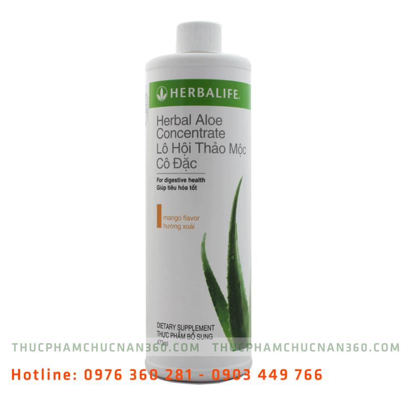 Herbal Aloe Concentrate - Lô Hội Thảo Mộc Cô Đặc Hương Xoài
