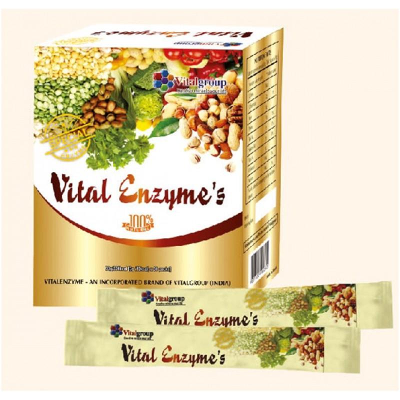 Vital Enzyme's Thanh lọc cơ thể hiệu quả ( Hàng Chính Hãng Ấn Độ)